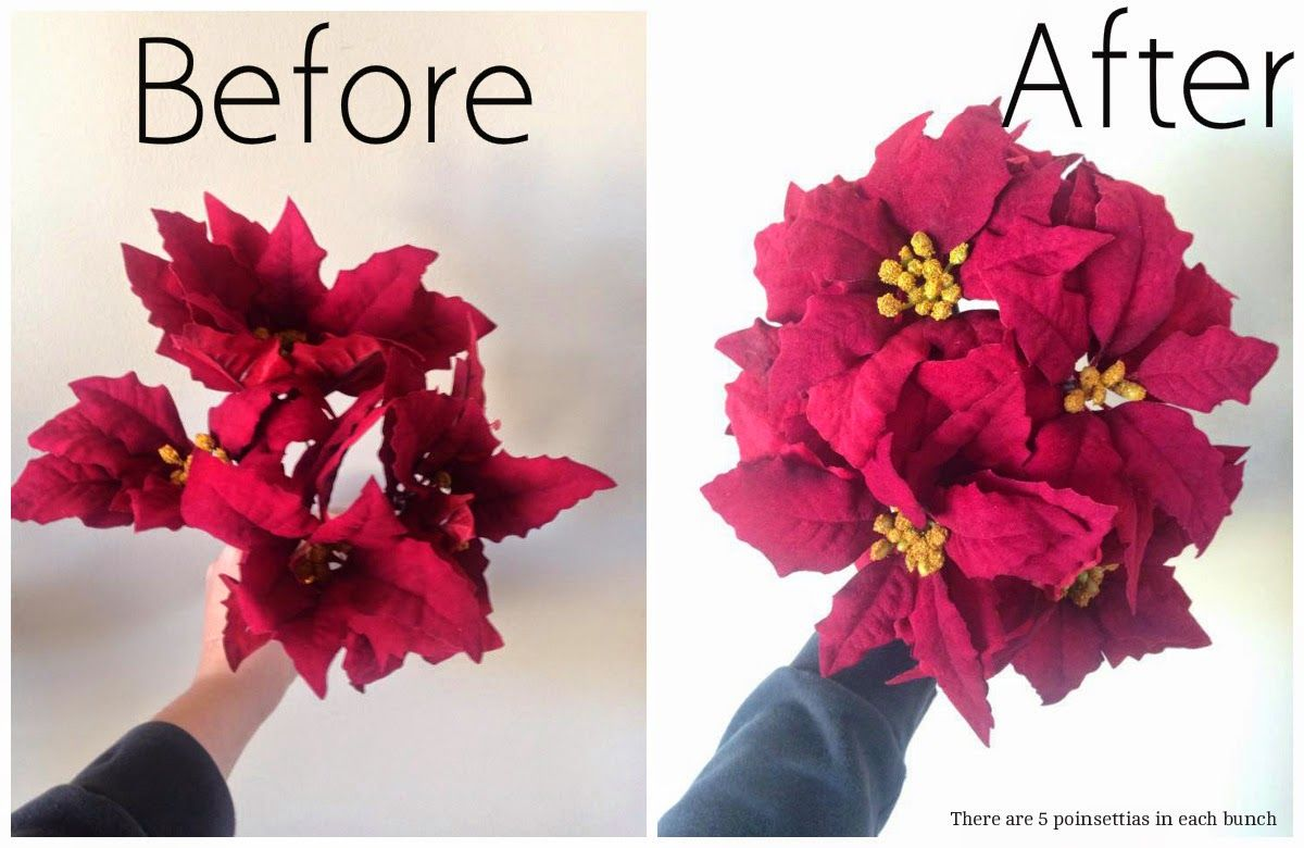 How to make fake flowers look real deck the halls pinterest how to make fake flowers look real mightylinksfo
