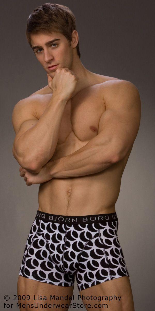 Luke Guldan by Lisa Mandel for Men\'s Underwear Store (2009) | More ...