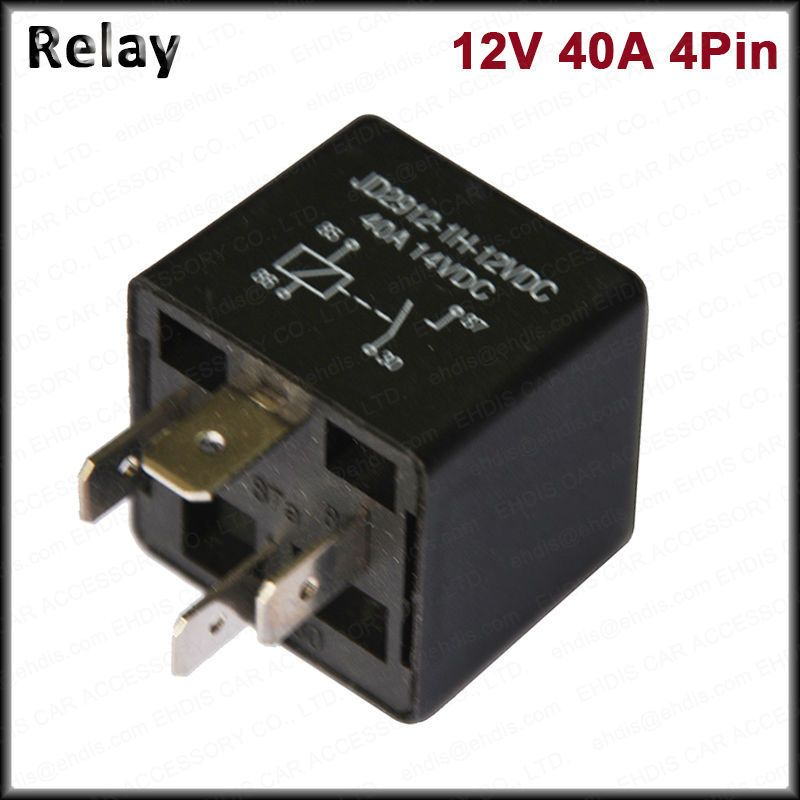 Kh Brand Car Relays 4 Pin 12v 24v 40amp Spst Automotive Fuse Relay Normally Open High Quality Auto Relay Auto Replacemen Replacement Parts Auto Usb Flash Drive