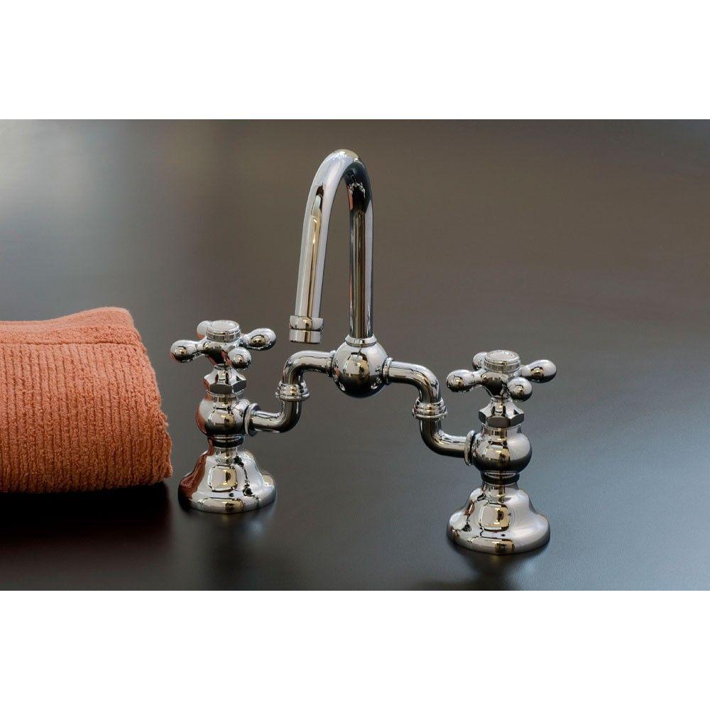Strom Plumbing Gooseneck Bridge Faucet | Faucet, Bathroom sink ...