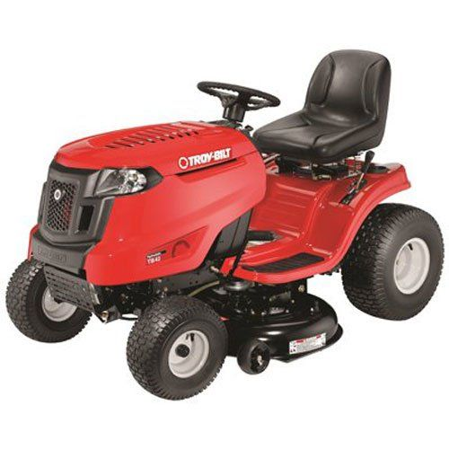 Troybilt Tb42 547cc Hydro Transmission 42inch Lawn Tractor Details Can Be Found By Clicking On T Best Riding Lawn Mower Best Lawn Tractor Lawn Mower Tractor