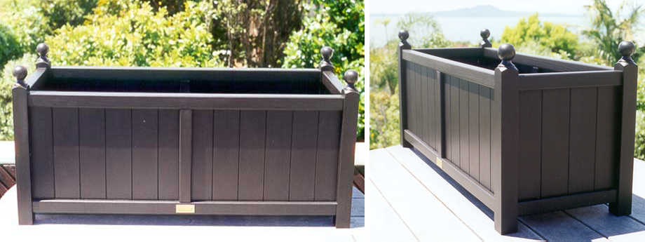 Plant Troughs New Zealand Made, Wooden Plant Boxes, Wood