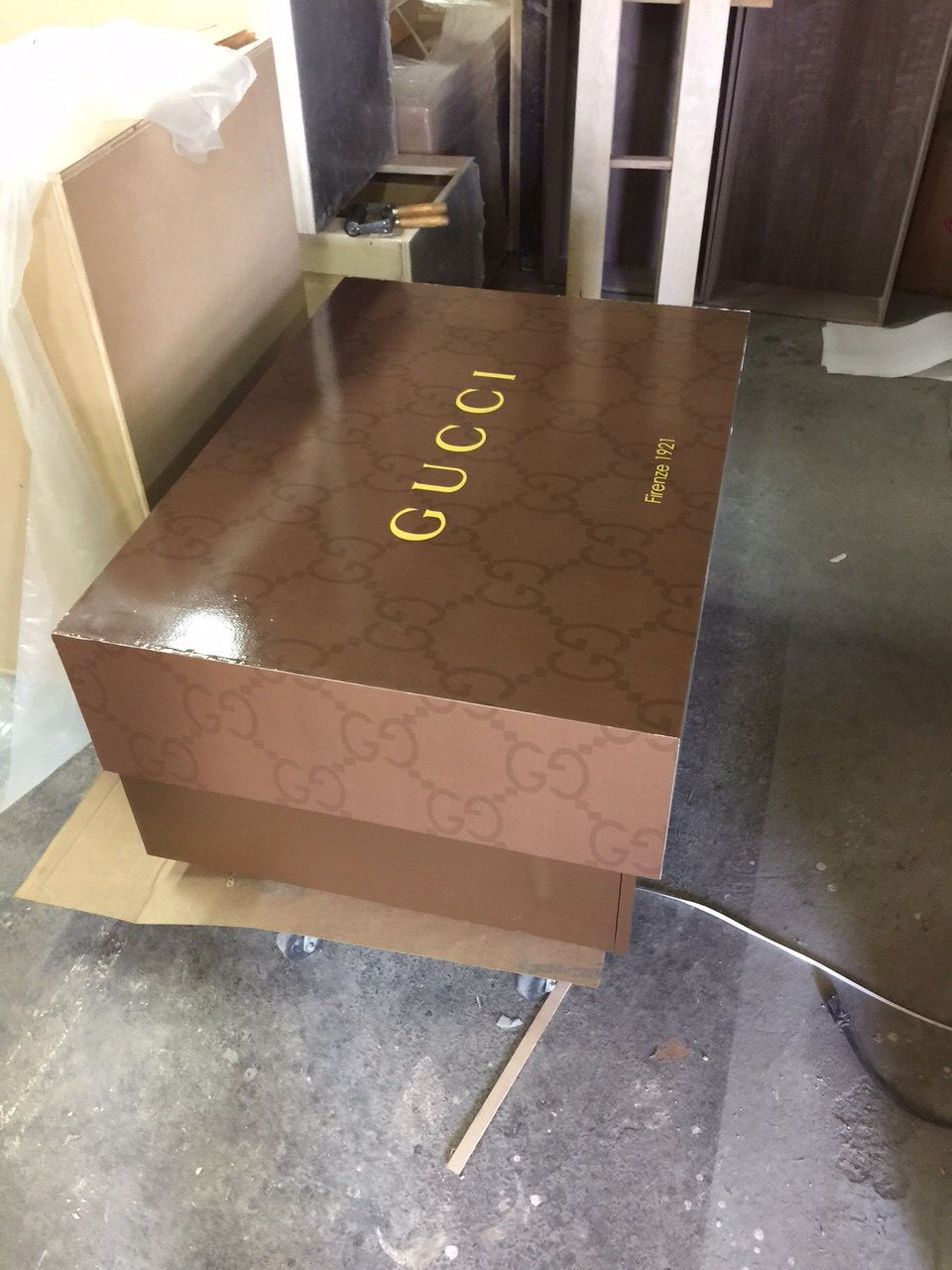 Gigantic Gucci Large Storage Shoe Box Wood Furniture Custom Made By  SoleShoeBoxes On Etsy Https: