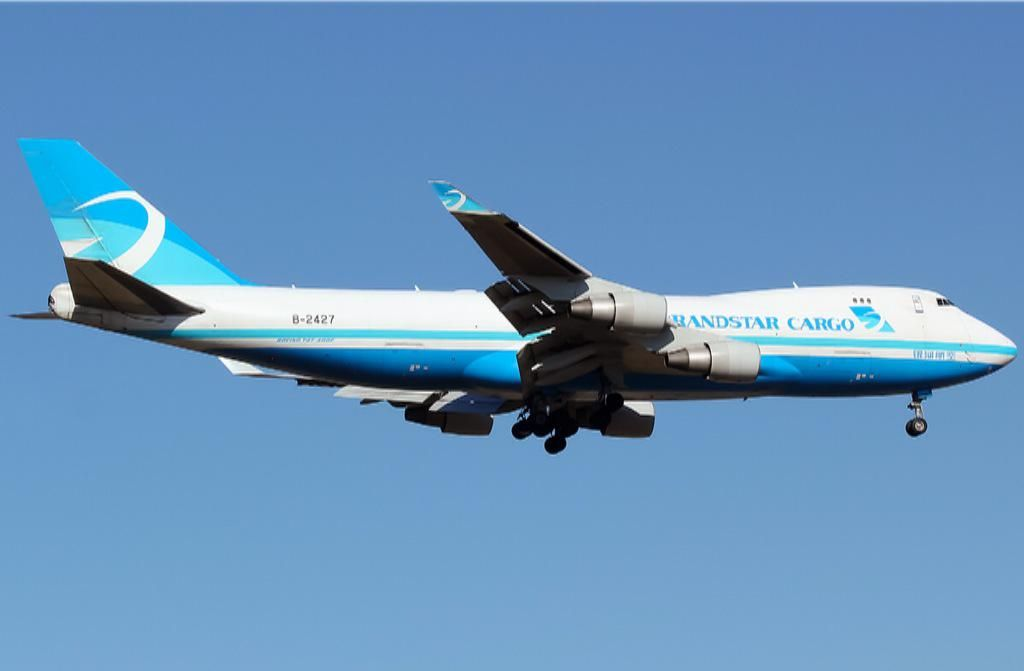 Grandstar Cargo, China, ceased ops in 2012 - Boeing 747-400F.freighter - via PJ de Jong
