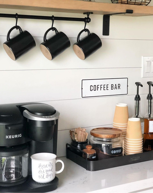 22 Amazing Kitchen Coffee Bar | Station Ideas | Designs | DIY | Corner | Small | Inspiration