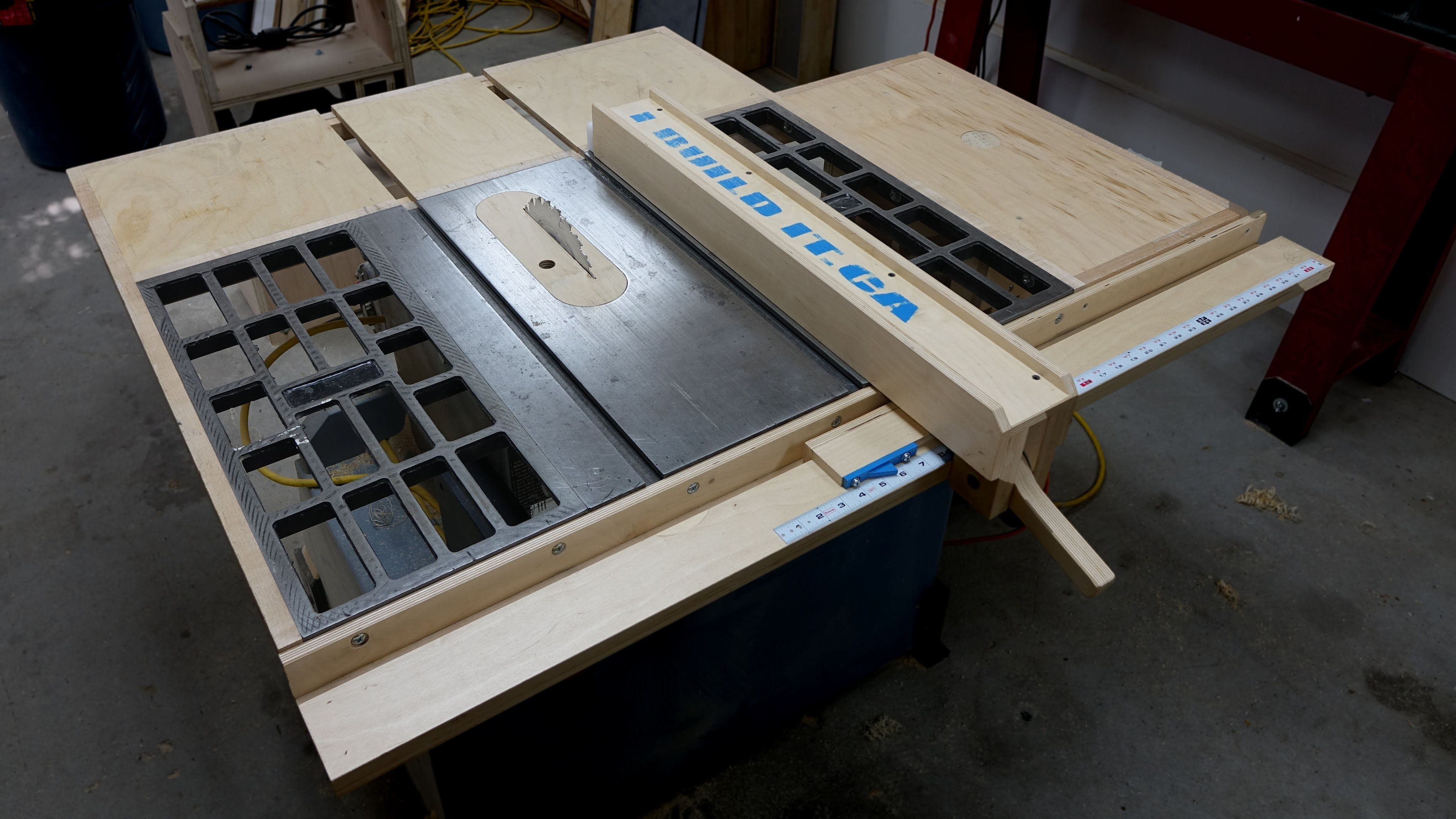 Installing the wooden table saw fence john heisz pinterest installing the wooden table saw fence keyboard keysfo Choice Image