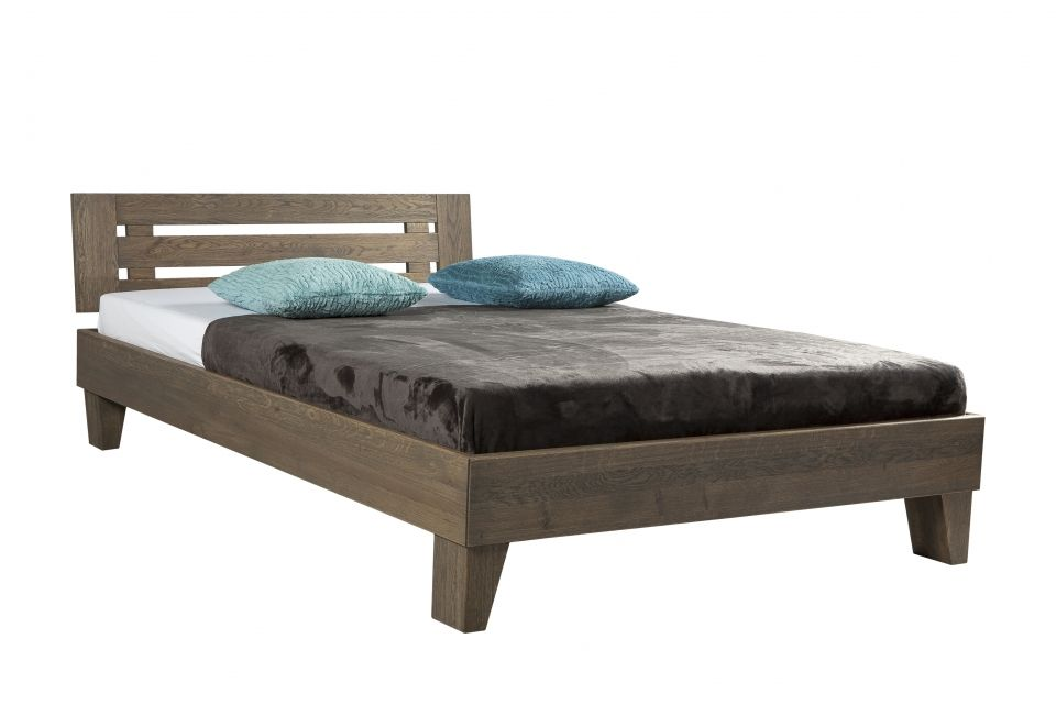 Massief houten bed beuken \u20ac584 eiken \u20ac744 Bed Pinterest - schlafzimmer set 180x200
