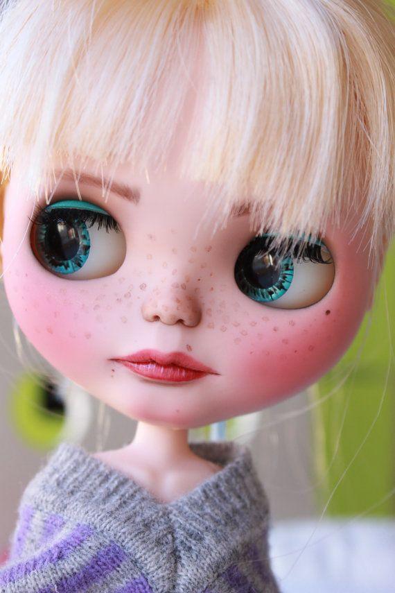 Custom Blythe Doll Luna by GerakinaDolls on Etsy