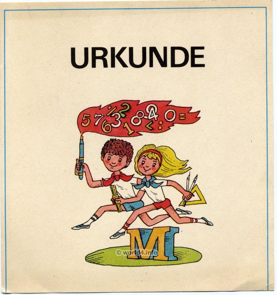 Vintage GDR Sport certificate template   graphicdesign gdr ...