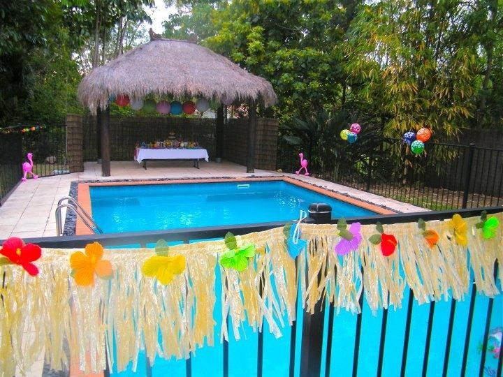 Graduation Pool Party Ideas pool party birthday ideas pool party ideas 66 cheap birthday mexican graduation party Hawaiian Pool Party Hawaiian Themed Pool Party With Matching Dessert Buffet