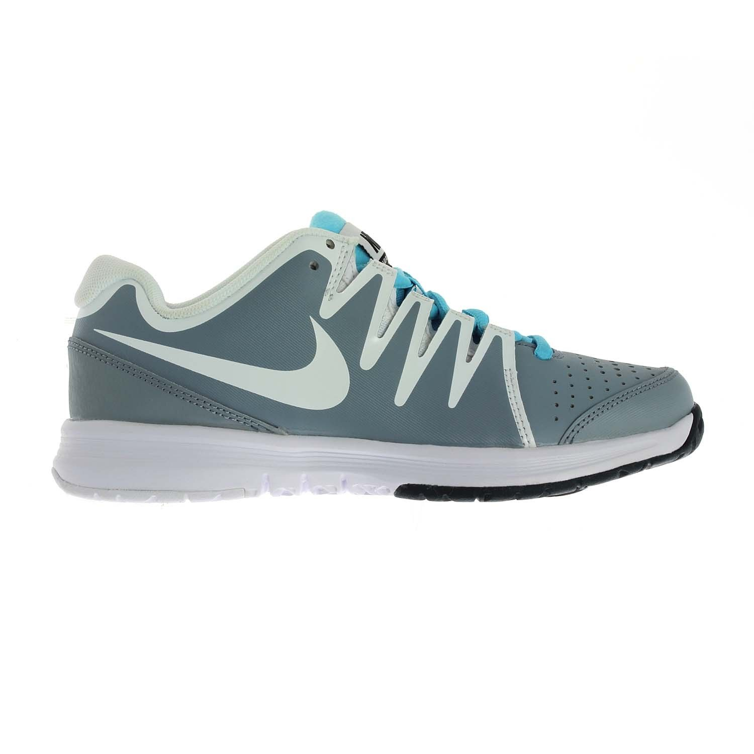 The Nike Vapor Court Tennis Shoe has Dynamic Fit technology for a securefit  with a locked-down feel.- Dynamic Fit system wraps the midfoot and a