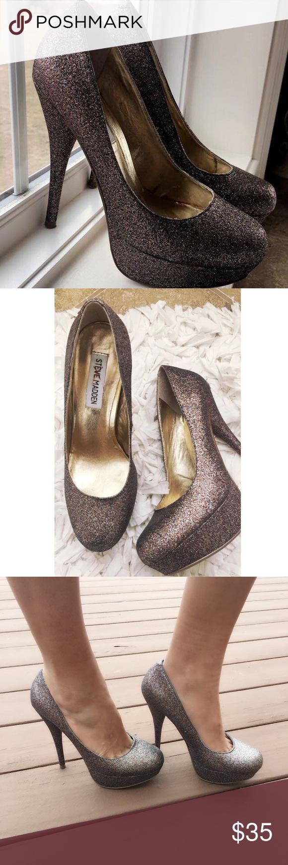Steve Madden heels. Steve Madden prom shoes sale wedding shoes Used ...