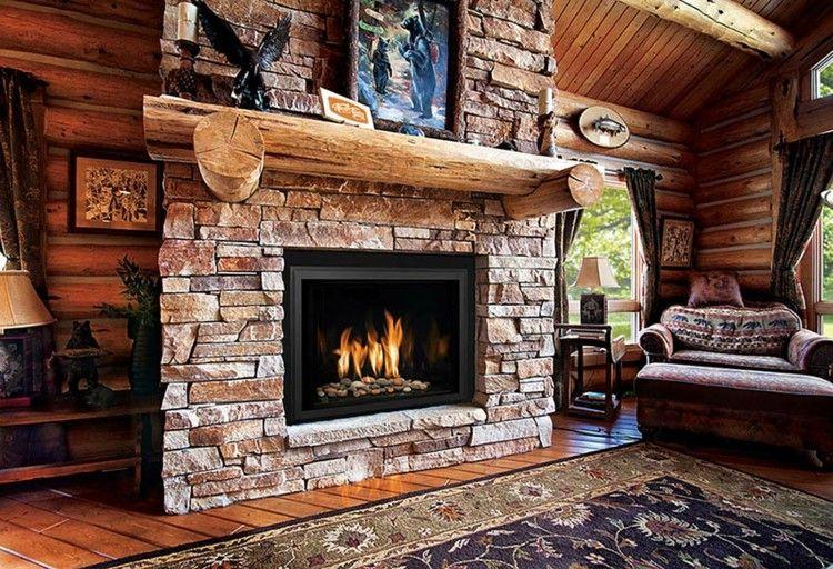 Chimeneas rusticas para ambientes campestres frescos - Chimeneas y ambientes ...