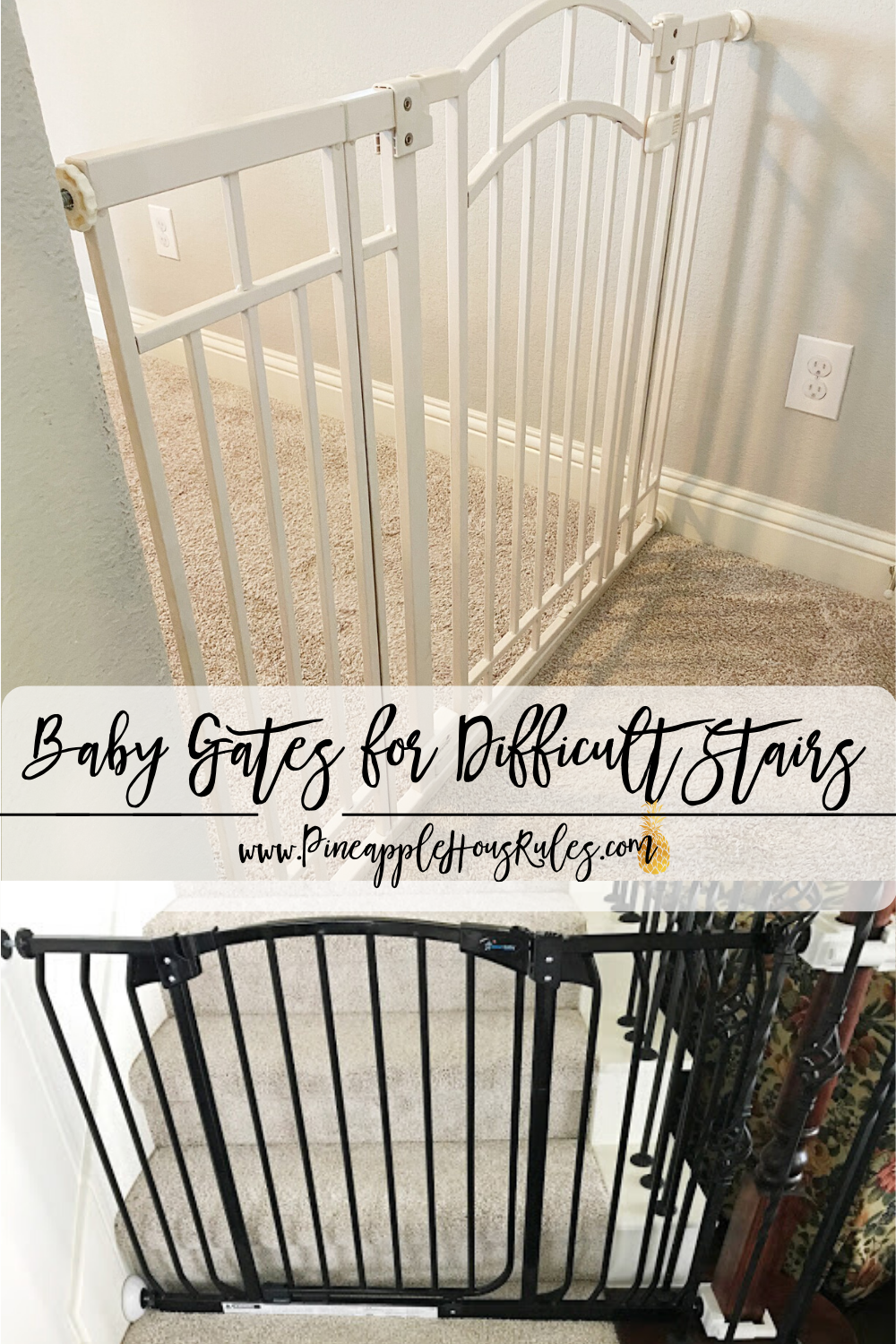 Baby Gates For Difficult Stairs Baby Gate For Stairs Baby Gates Best Baby Gates