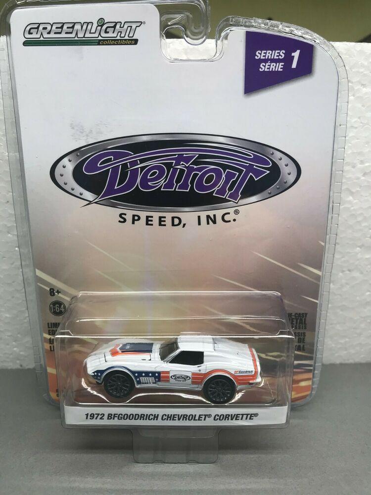 Greenlight  Detroit Speed Inc Series 72 Chevrolet Corvette BF Goodrich