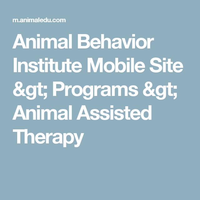 Animal Behavior Institute Mobile Site > Programs > Animal