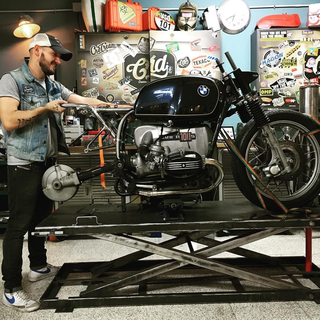 here and now!!! >> #crd71@caferacerdreams #weloveourwork