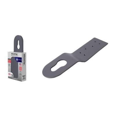 Powder Coated Grey Aluminum Hitch Clip