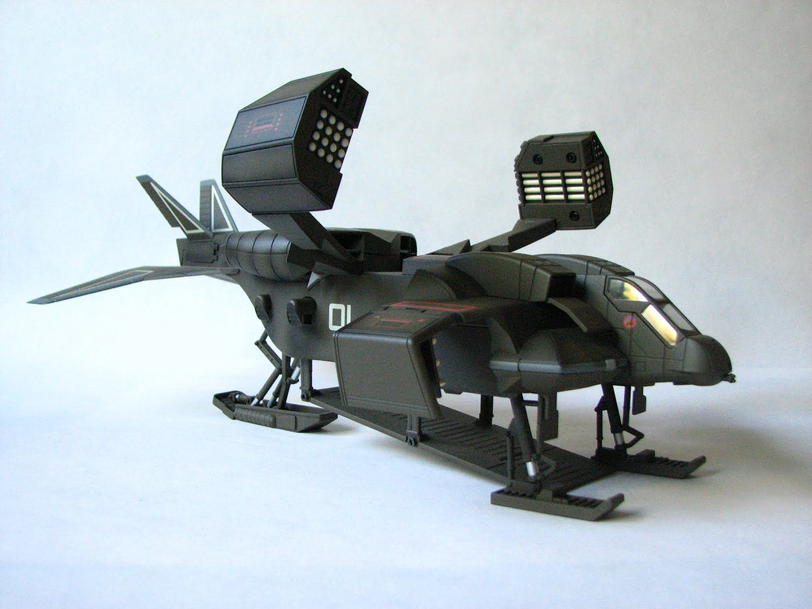 "Gunship from the movie ""Aliens"""