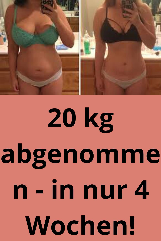 in 2 monaten 20 kilo abnehmen diätplan