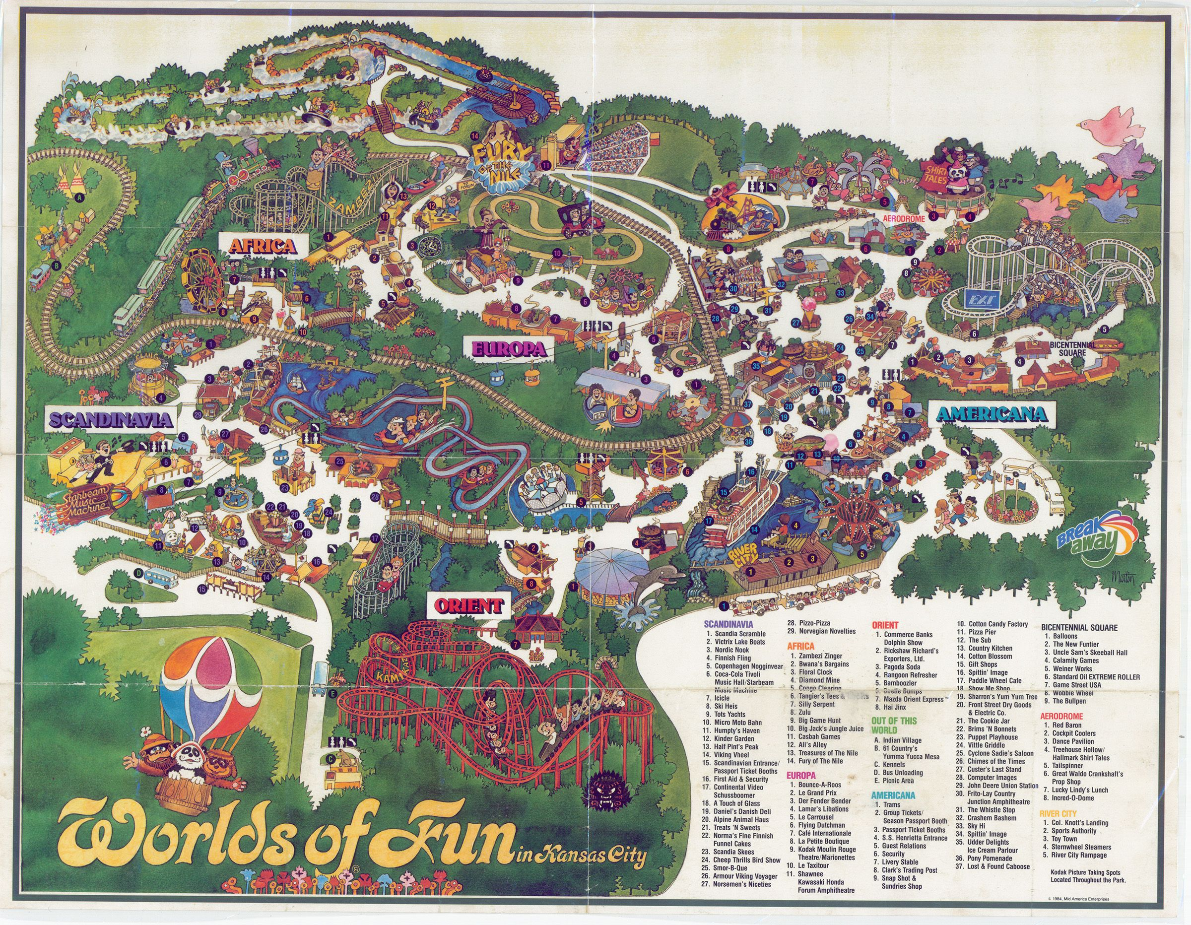 Pin By E Cade On My Kansas City Worlds Of Fun Wall Collage City Photo