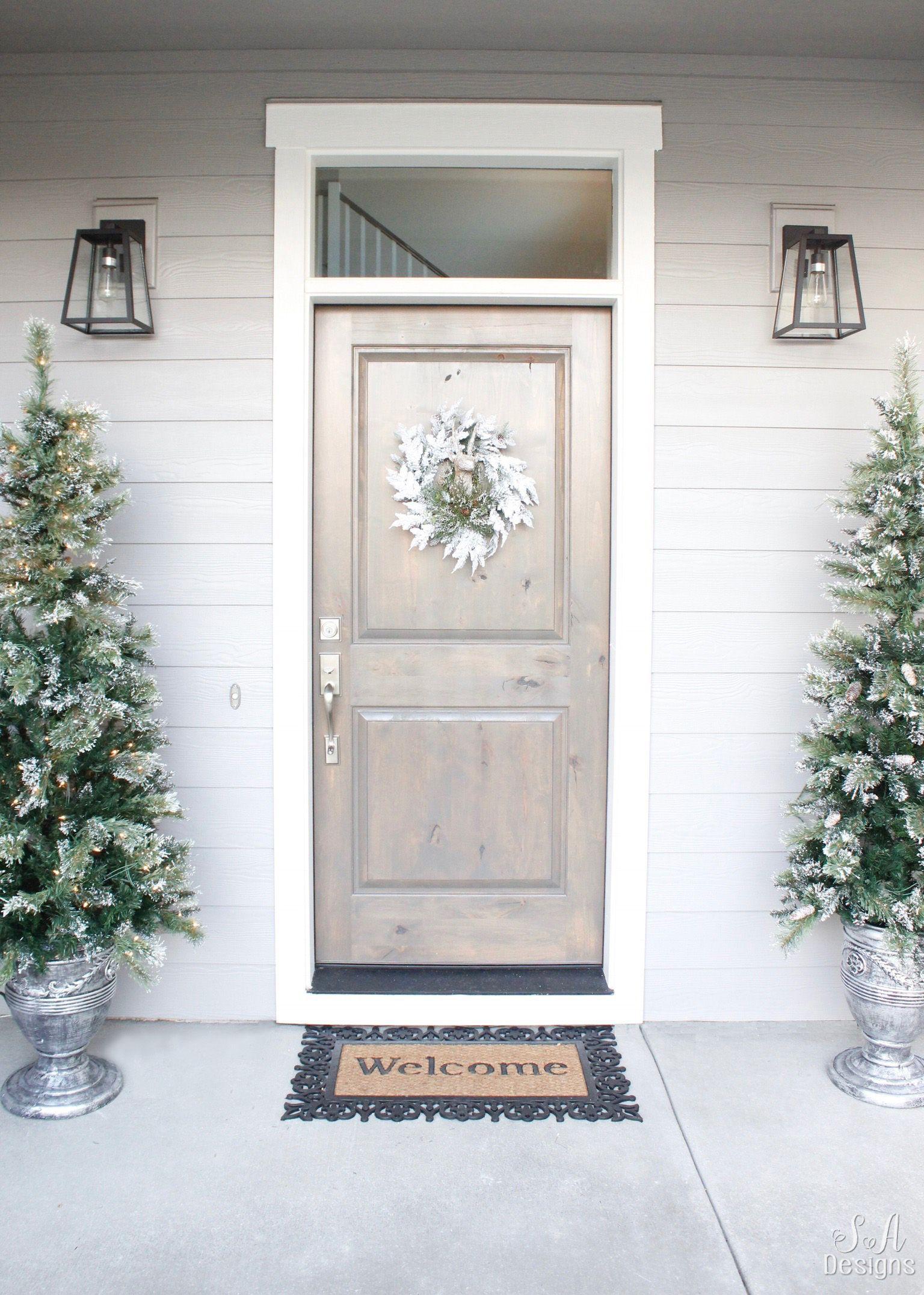 Elegant Christmas Entry Tour Elegant christmas, Tree