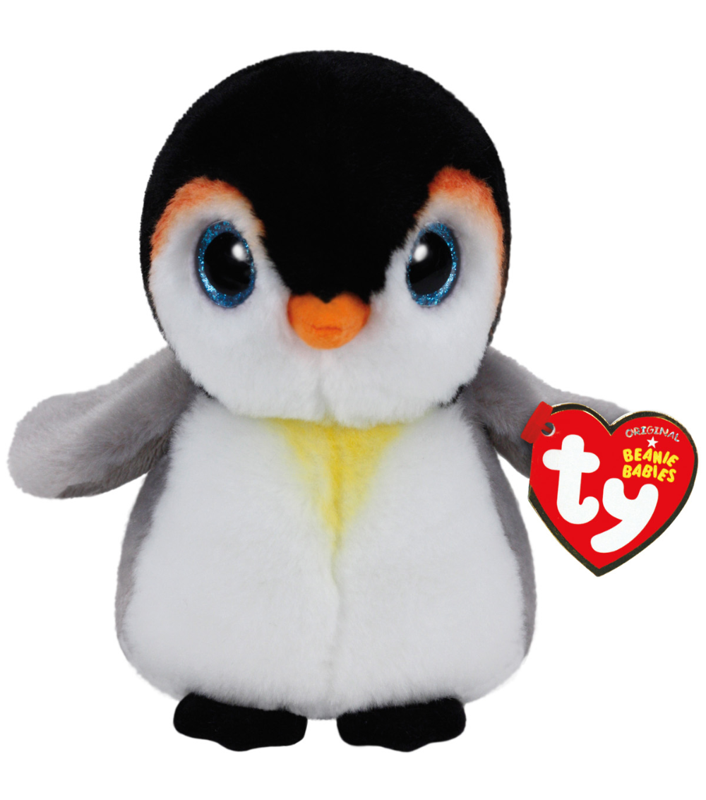 Ty Beanie Babies Plush Pongo Penguin Baby plush toys, Ty
