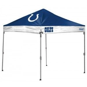 Indianapolis Colts Coleman 10 X 10 Straight Leg Canopy Tent From Tailgategiant Com Indianapolis Colts Canopy Tent Tent