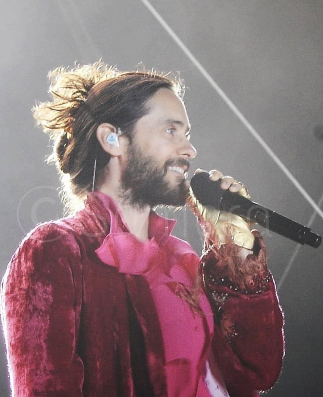 Salem Germany 16 08 2019 Jared Leto Shannon Leto Great Wide Open