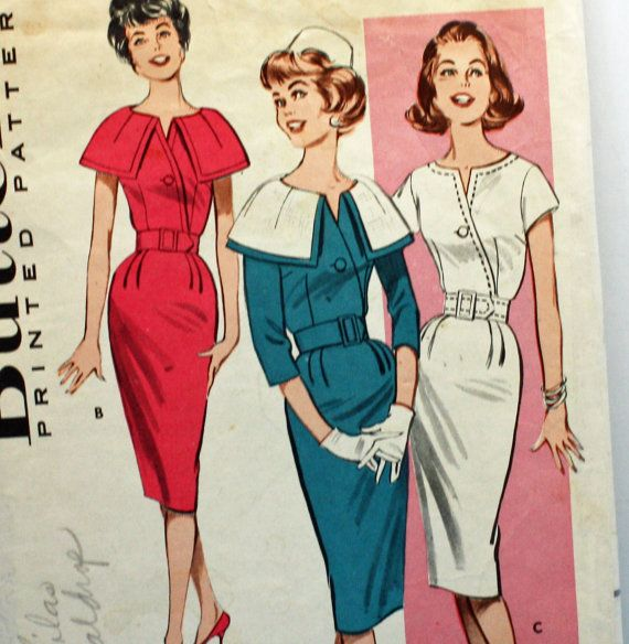 Vintage 1960s Sewing Pattern Butterick 9323 by Old2NewMemories, $12.75