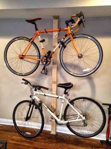Diy 2x4 Bike Rack Google Search Garage Bike Bike Storage Rack