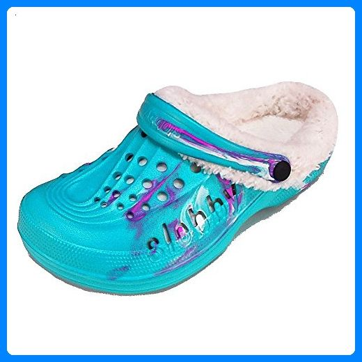 Damen Clogs Badeschuhe (125B) Badelatschen Pantoffel Pantoletten Schuhe Neu
