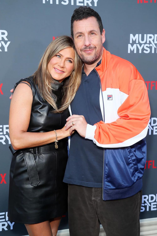 Jennifer Aniston Shouts Out Adam Sandler After SAG Awards