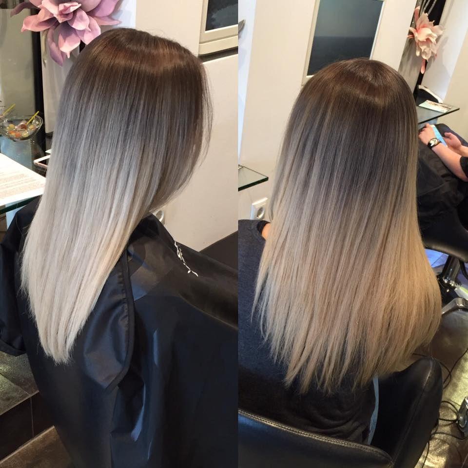 balayage blond k hl farbverlauf perfekt hair balayage ombre babylights pinterest. Black Bedroom Furniture Sets. Home Design Ideas