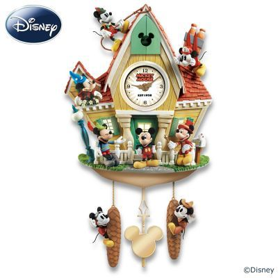 disney mickey mouse through the years cuckoo clock cuckoo clocks  disney mickey mouse through the years cuckoo clock