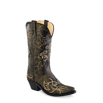Old West® Women's Fashion Wear Boots - Vintage Charcoal #oldwest #cowgirl #boots #fashion #pungoridge #westernbootsales