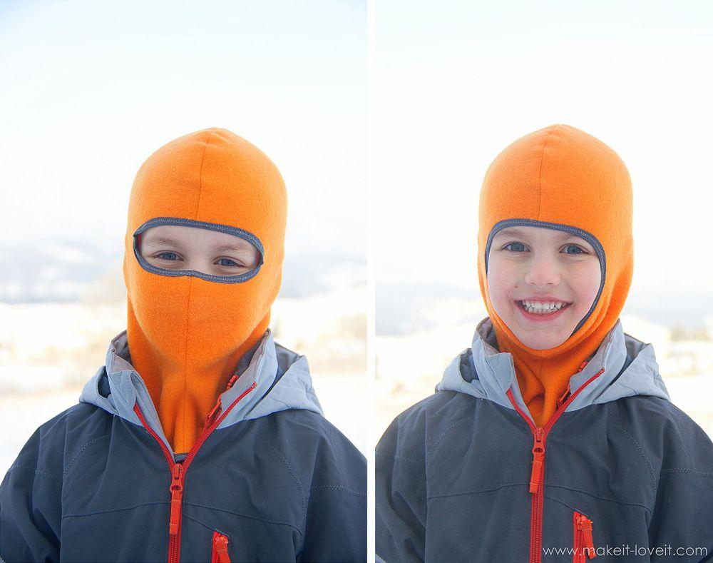 Make your own Balaclava (or ski-type mask | Schnittmuster kinder ...
