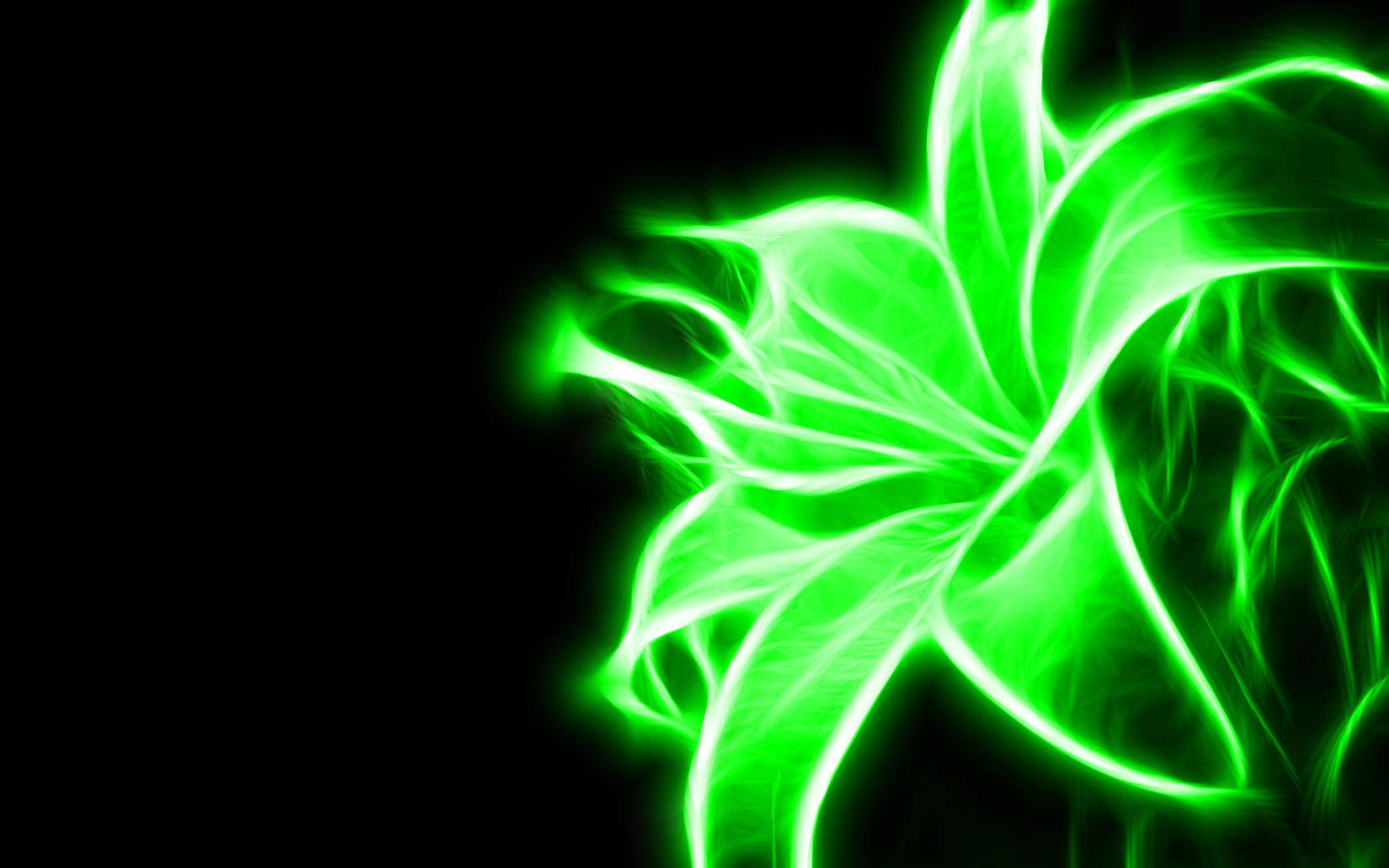 Neon Green Flowers Neon Green Flower Green Wallpaper 20988898 Fanpop Fanclubs Neon Flowers Neon Wallpaper Neon Backgrounds