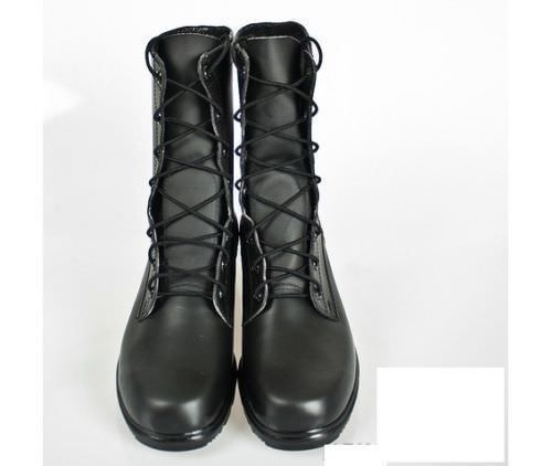 3f2d0f8c3192 MEN MILITARY LACE UP COMBAT PURE SOFT LEATHER LONG BOOTS CUSTOM MADE SIZES  - Boots