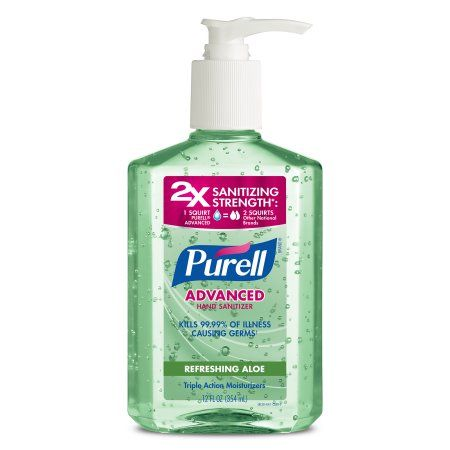 Personal Care Products Hand Sanitizer Aloe Bottle
