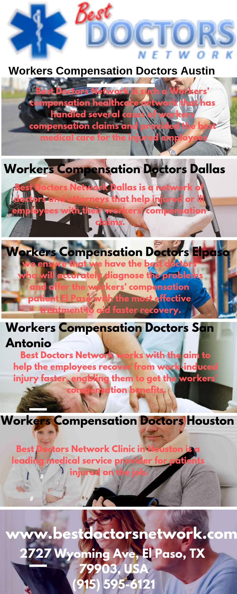 Workers Compensation Doctors San Antonio Best Doctors Network Best Doctors Work Related Injuries Worker