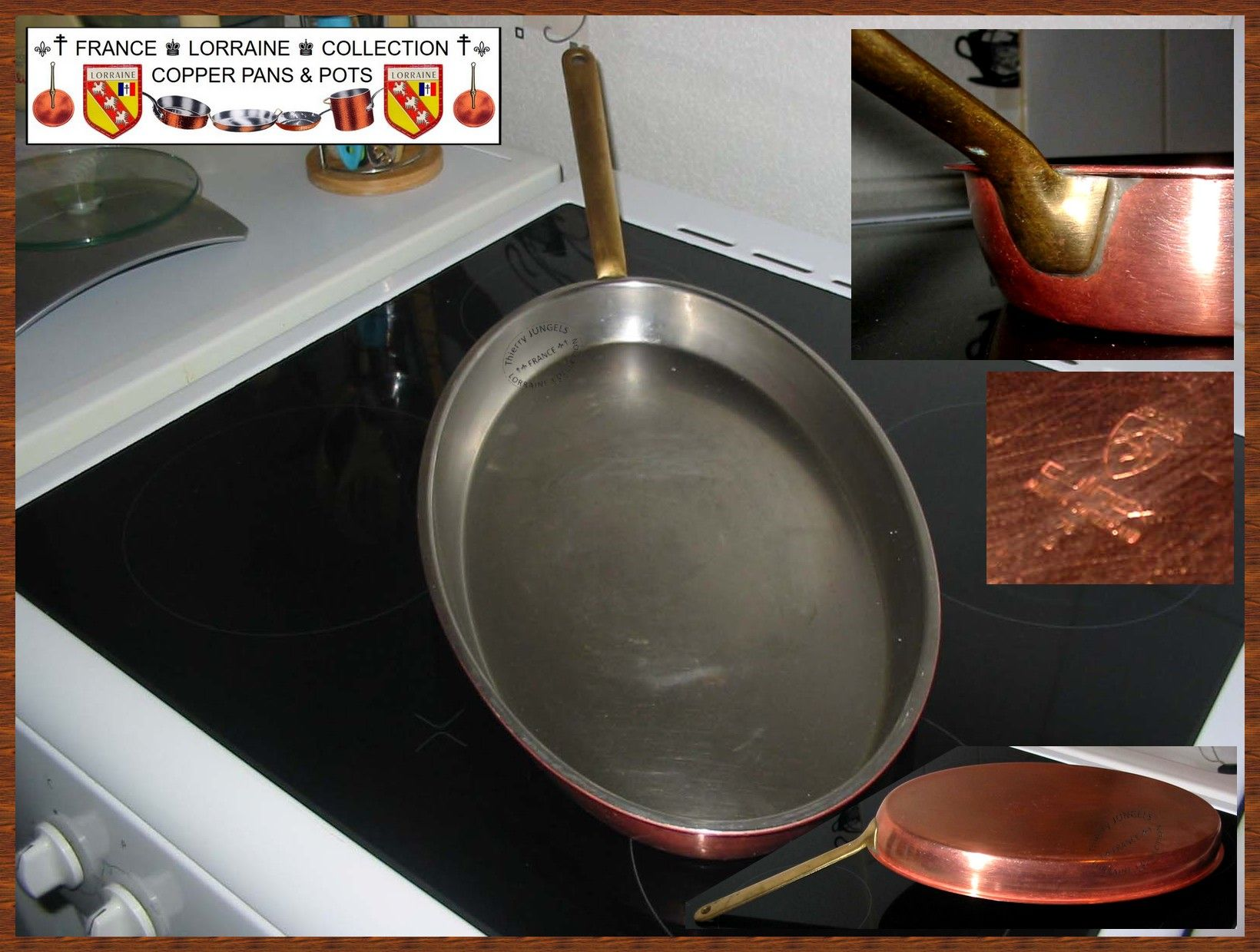 Spring Töpfe An Example Of Oval Copper Frying Pan From Spring Culinox