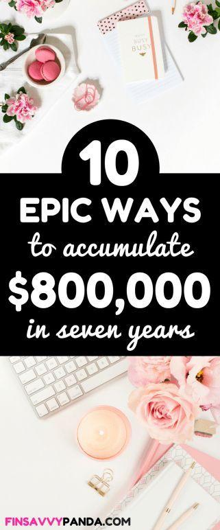 Wie man mit diesen 10 Tipps zum Vermögensaufbau Reichtum aufbaut   – The Best Way to Save Up Money Fast