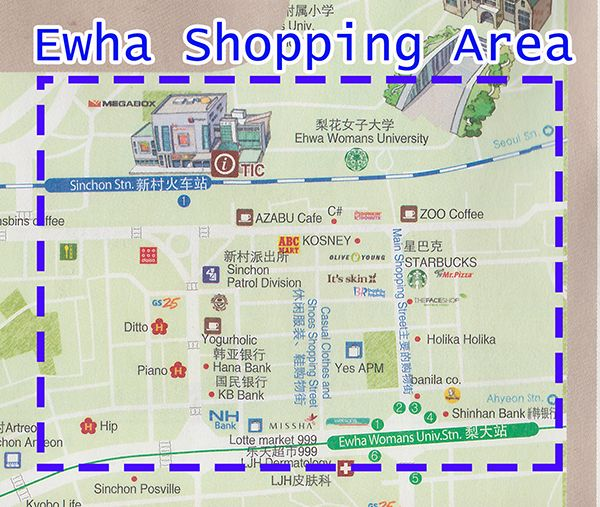Share Tweet 1 Mail Review of Top 4 Shopping Streets in Seoul