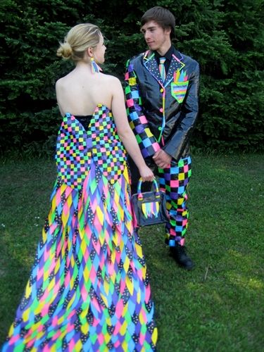 Entry for the 2011 Stuck at Prom Scholarship Contest. Students wear ...
