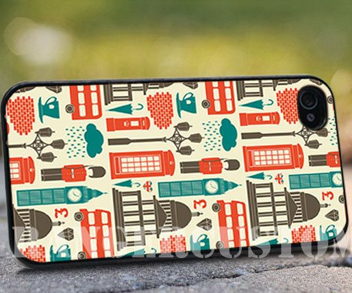 London scene  iPhone 4/4s/5/5s/5c Case  by rangercustommumet, $15.00