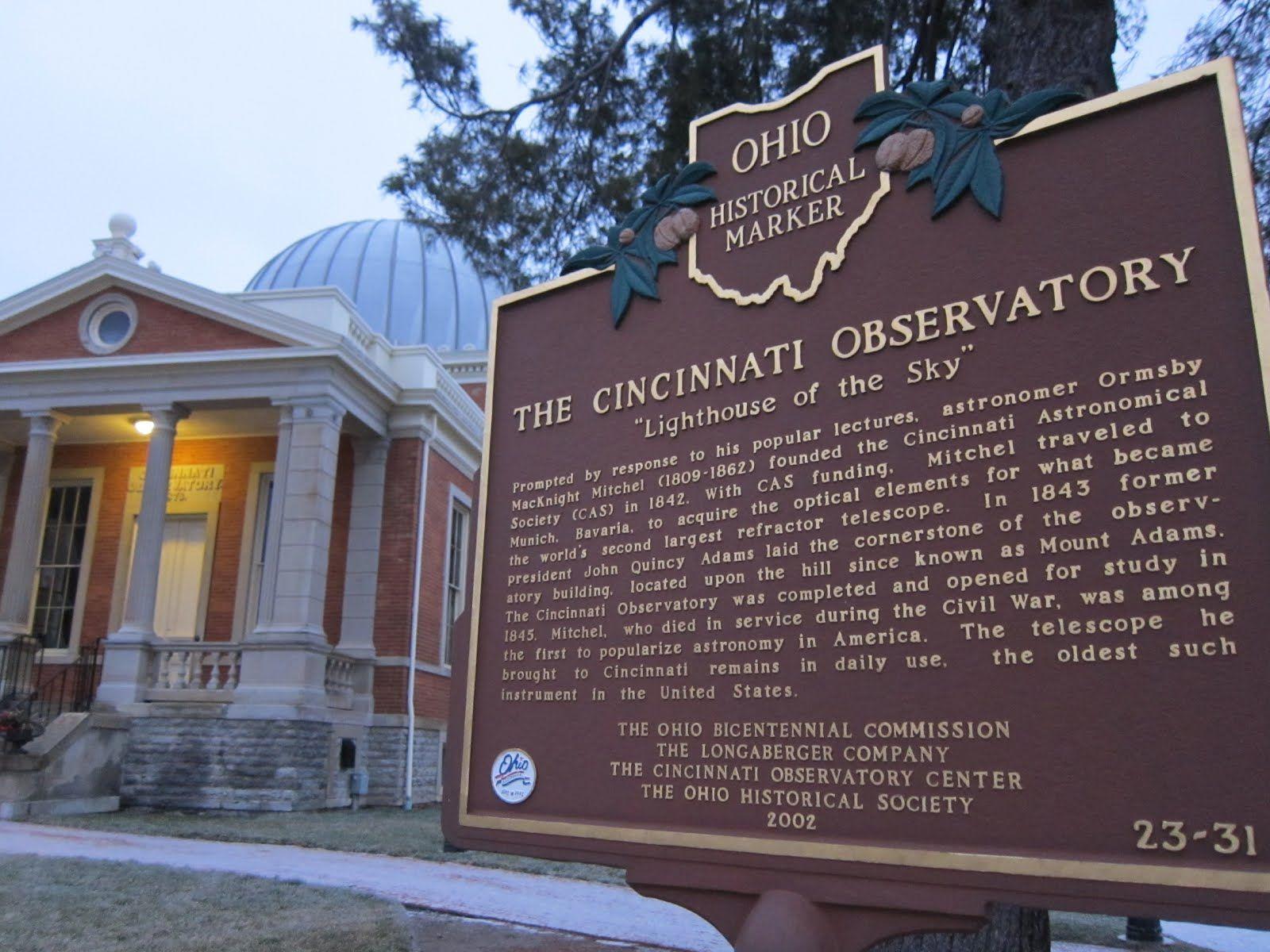 The Cincinnati Observatory Established In 1842 The Cincinnati