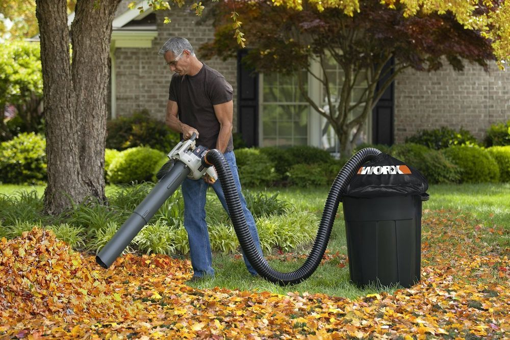 New Leaf Blower Collector Composter Universal Gas Electric Rake Vacuum Yard Work Lawn Vacuum Yard Work Country Garden Design