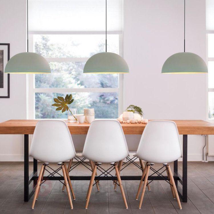 hellgr ne led h ngelampe rye aus metall kaufen scandinavian style pinterest esszimmer. Black Bedroom Furniture Sets. Home Design Ideas