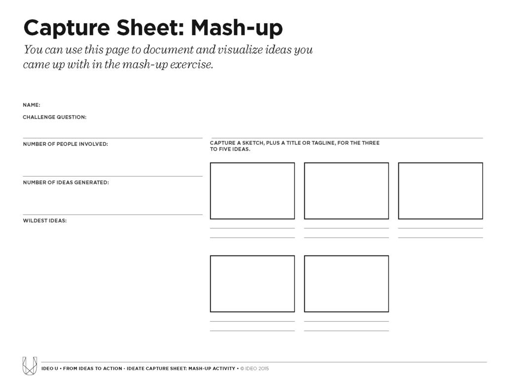 Ideation Method Mash Up